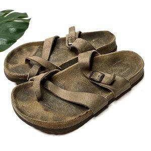 Birkenstock Papillio Brown Tabora Sandal